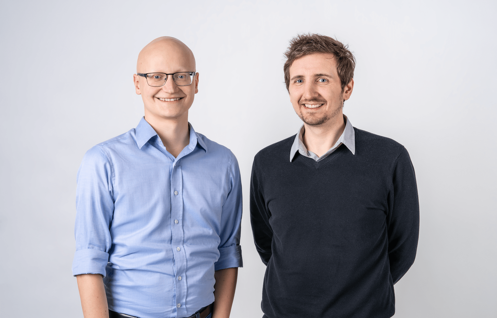 Kaleido AI founders, Benjamin Groessing and David Fankhauser.